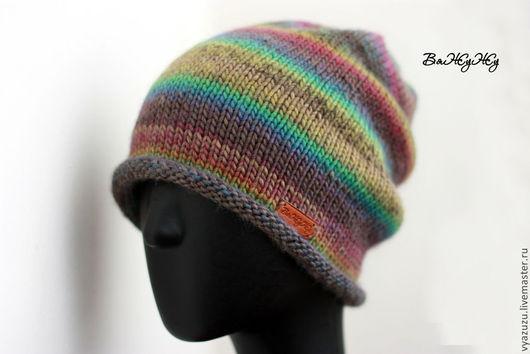 """Шапки ручной работы. Ярмарка Мастеров - ручная работа. Купить Шапка """"Шервудский лес"""". Handmade. Вязаная шапка, разноцветная шапка"""