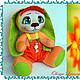 Коллекционные куклы ручной работы. Заказать Зайка солнечный рыжик. Олеся Лесная (olesya-lesnaya). Ярмарка Мастеров. Рыжик, няшка