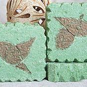 """Косметика ручной работы. Ярмарка Мастеров - ручная работа """"Чай с птицами"""" Натурально минеральное мыло. Handmade."""