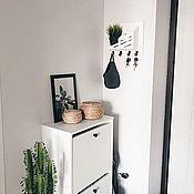 Для дома и интерьера handmade. Livemaster - original item Housekeeper made of wood on the wall. Handmade.
