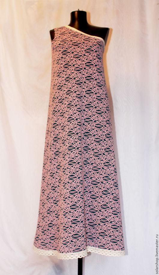 """Платья ручной работы. Ярмарка Мастеров - ручная работа. Купить Платье """"Вельта"""". Handmade. Комбинированный, сарафан, бохо, вязаный трикотаж"""