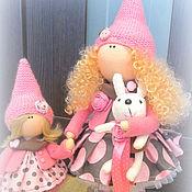 Куклы и игрушки ручной работы. Ярмарка Мастеров - ручная работа Куклы интерьерные Нина и Мила. Handmade.