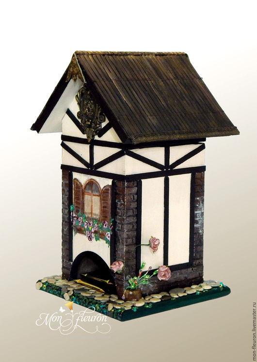 """Кухня ручной работы. Ярмарка Мастеров - ручная работа. Купить Домик для чая """"Old Germany"""" №3. Handmade. коричневый"""