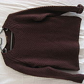 Одежда ручной работы. Ярмарка Мастеров - ручная работа Комфортная кофта из натуральной шерсти, размер от 44 до 52.  цена 800. Handmade.