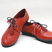 """Обувь ручной работы. Ярмарка Мастеров - ручная работа женские ботинки """"ОСЕНЬ"""". Handmade."""