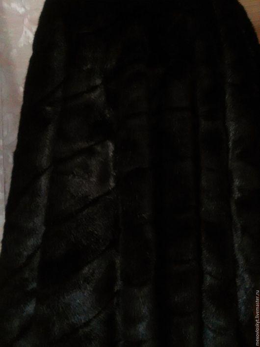 Шитье ручной работы. Ярмарка Мастеров - ручная работа. Купить искусственная норка-поперечка черная. Handmade. Норка искусственная