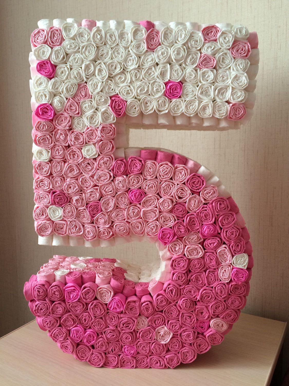 Как сделать цифру 1 на день рождения своими руками мальчику