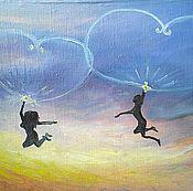 Картины и панно ручной работы. Ярмарка Мастеров - ручная работа Картина Мантра любви. Handmade.