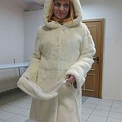 Одежда ручной работы. Ярмарка Мастеров - ручная работа Норковая шуба Жемчужина. Handmade.