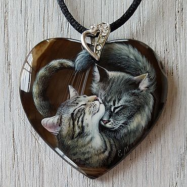 Decorations handmade. Livemaster - original item Pendant: Love is in the air. Handmade.