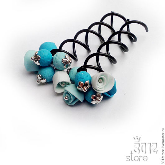 Спиральные шпильки для волос