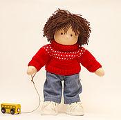 Куклы и игрушки handmade. Livemaster - original item Doll boy, 31 cm. Handmade.