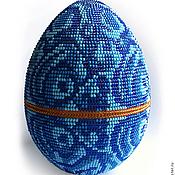 "Сувениры и подарки handmade. Livemaster - original item ""Lazurite"" Easter egg. Handmade."