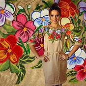 "Одежда handmade. Livemaster - original item Dress""Flowers"". Handmade."