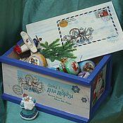 Подарки к праздникам handmade. Livemaster - original item Box parcel