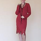 Одежда ручной работы. Ярмарка Мастеров - ручная работа Платье вязаное 4209. Handmade.