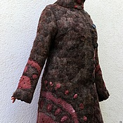 "Одежда ручной работы. Ярмарка Мастеров - ручная работа Пальто валяное ""Анданте"". Handmade."