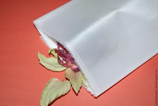 Ткань для цветов ручной работы. Ярмарка Мастеров - ручная работа. Купить Ткань для цветоделия - В/В Дешин. Handmade. Белый