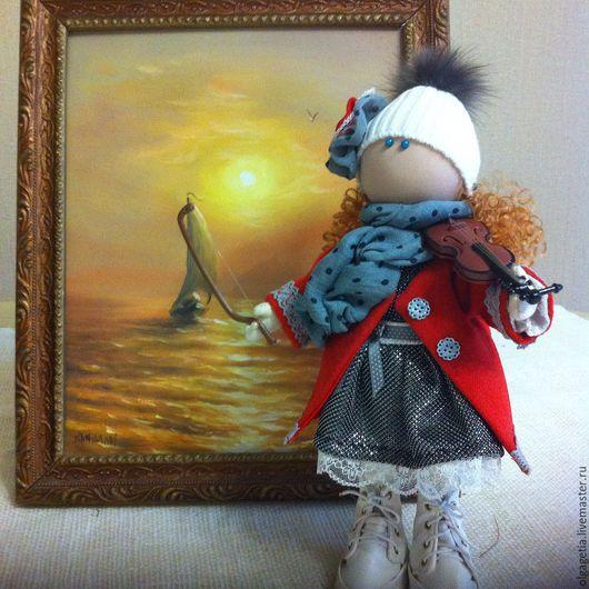 Коллекционные куклы ручной работы. Ярмарка Мастеров - ручная работа. Купить Маленькие скрипачи. Handmade. Кукла скрипач, handmade