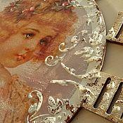 """Для дома и интерьера ручной работы. Ярмарка Мастеров - ручная работа Часы """"Куколка"""". Handmade."""