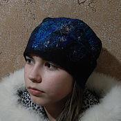 Аксессуары ручной работы. Ярмарка Мастеров - ручная работа Шапка валяная Зима. Handmade.