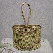 Для дома и интерьера handmade. Livemaster - original item Stand for Cutlery from the vine. Handmade.