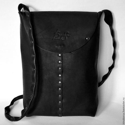 Мужские сумки ручной работы. Ярмарка Мастеров - ручная работа. Купить Сумка JAKE. Handmade. Черный, сумка для мужчины, купить