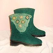 """Обувь ручной работы. Ярмарка Мастеров - ручная работа Валенки """"Морской бриз"""". Handmade."""