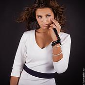 Одежда ручной работы. Ярмарка Мастеров - ручная работа Платье из джерси арт.5217. Handmade.