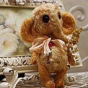 """Куклы и игрушки ручной работы. Ярмарка Мастеров - ручная работа Слоник тедди """"Тобик"""". Handmade."""