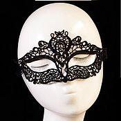 Одежда ручной работы. Ярмарка Мастеров - ручная работа Кружевная маска Царица. Handmade.