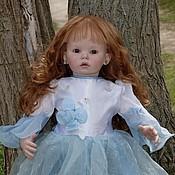 Куклы и игрушки ручной работы. Ярмарка Мастеров - ручная работа Кукла реборн Виктория Тибби. Handmade.
