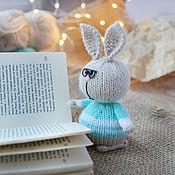 Куклы и игрушки handmade. Livemaster - original item Bunny with glasses. Handmade.