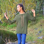 """Одежда ручной работы. Ярмарка Мастеров - ручная работа Пуловер """" Страсть хозяйки леса"""". Handmade."""