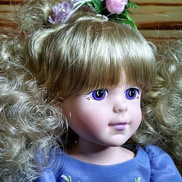 Винтаж ручной работы. Ярмарка Мастеров - ручная работа Виниловая кукла Фиалка (Violet) от Robin Woods. Handmade.
