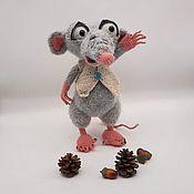 Мягкие игрушки ручной работы. Ярмарка Мастеров - ручная работа Мягкие игрушки: Крыс. Handmade.