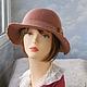 """Шляпы ручной работы. шляпка """"Бохо"""". ZIMa    (Ирина)          FeltHouse. Ярмарка Мастеров. Шляпки из войлока, бохо-шляпа"""