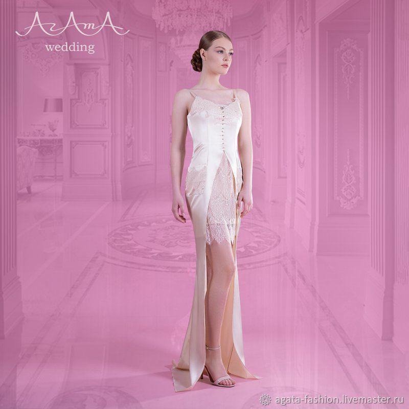"Платье - комбинация , свадебное, от ""АгАтА"",, Платья свадебные, Сочи,  Фото №1"