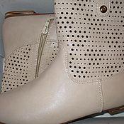 Обувь ручной работы. Ярмарка Мастеров - ручная работа Кожаные ботинки 36,37,38. Handmade.