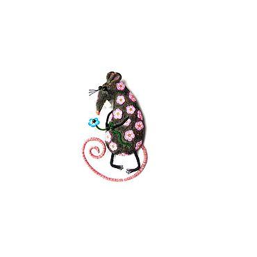 """Украшения ручной работы. Ярмарка Мастеров - ручная работа Брошь """"Крыся"""". Handmade."""