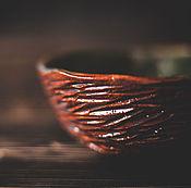 Посуда ручной работы. Ярмарка Мастеров - ручная работа Миска зеленой воды. Handmade.