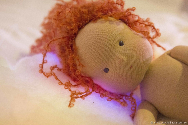 Мио. Озорное солнышко. Вальдорфская кукла, Вальдорфские куклы и звери, Москва,  Фото №1