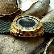 """Электронные наручные часы """"Батискаф"""" в стиле стимпанк"""