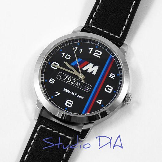 Часы BMW С Номером. Студия Дизайнерских Часов DIA.