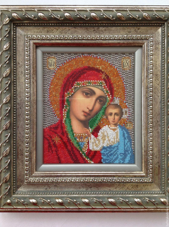 Икона Казанская Божья Матерь, Иконы, Москва, Фото №1