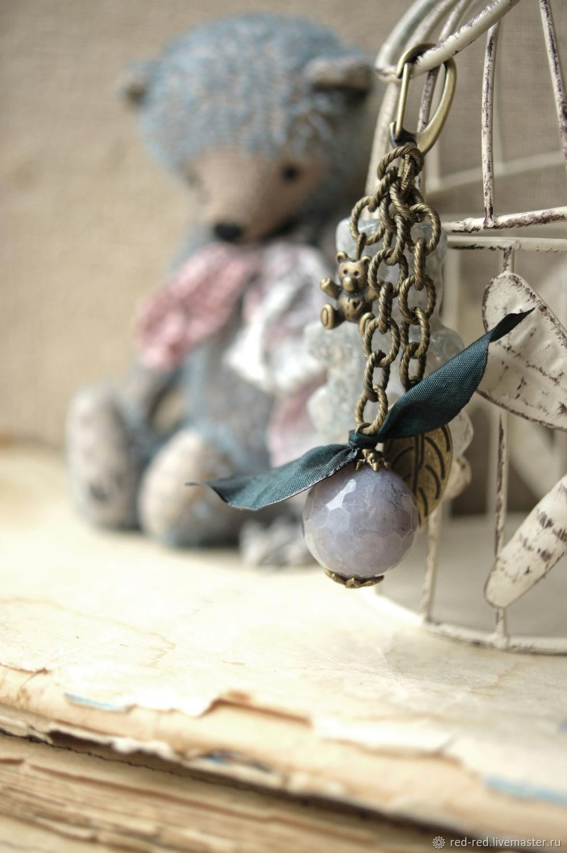 Брелок для ключей Мишка Тедди, подвеска на сумку медведи