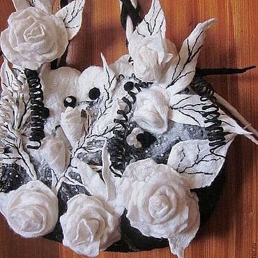 """Сумки и аксессуары ручной работы. Ярмарка Мастеров - ручная работа Сумка """" Белые розы"""". Handmade."""