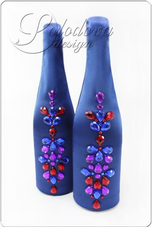 Свадебные бутылки Бутылки для свадебы,декор бутылок на свадьбу, украшение бутылок для свадьбы,свадебные бутылки.