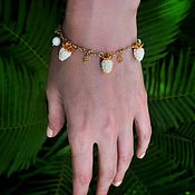 "Украшения handmade. Livemaster - original item Bracelet ""Raspberries"". Handmade."