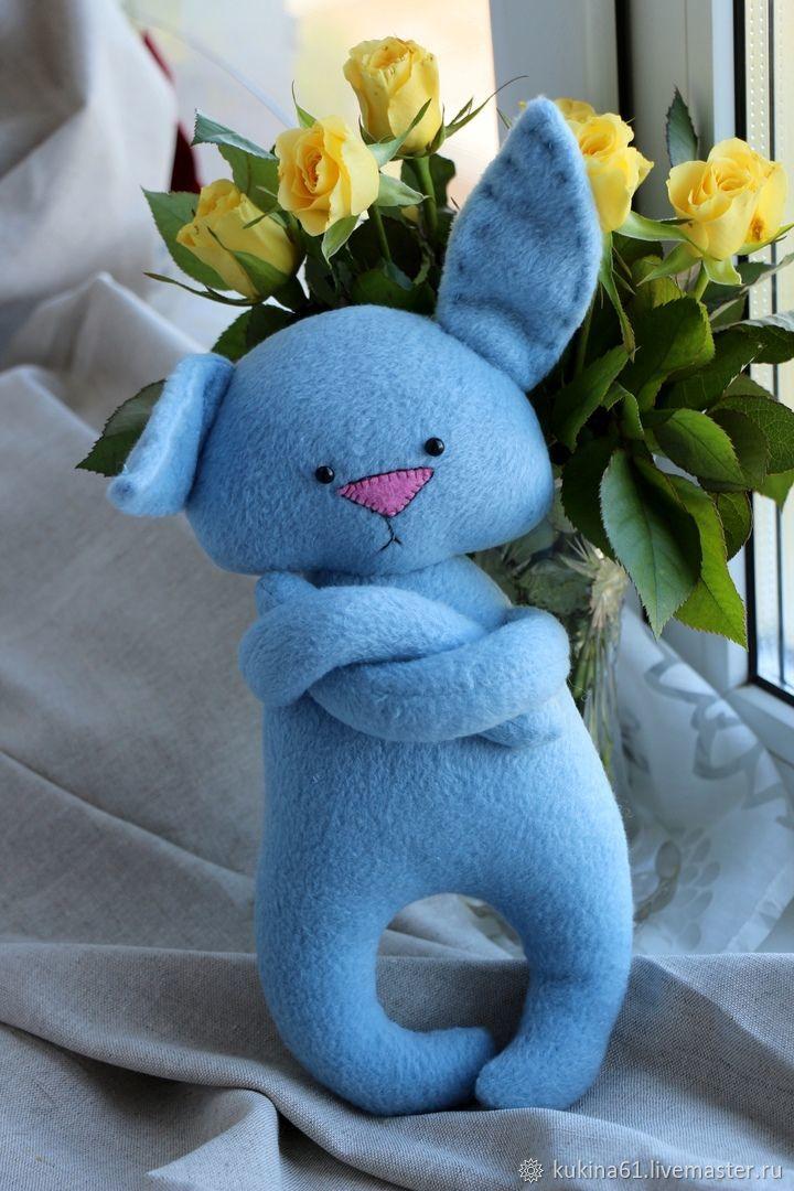Bunny blue, Stuffed Toys, Velikiy Novgorod,  Фото №1